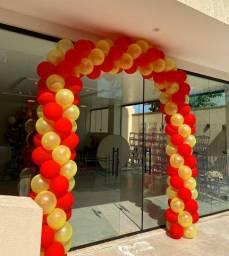 Balões, decorações