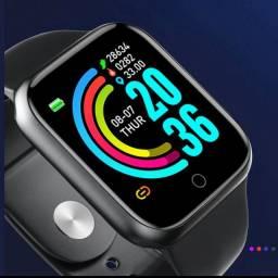 Pro Smartwatch Esportivo Bluetooth com Monitor de Saúde/Frequência