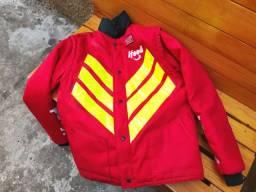 Jaqueta de alta visibilidade com mangas opcionais