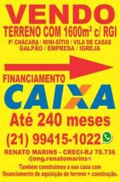 Terreno p/ sítio/chácara CACHOEIRAS DE MACACU