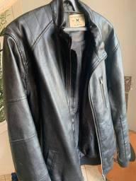 Jaqueta pouco usada de couro da Hering