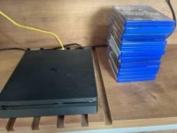 PlayStation 4 Slim 500 gb - 14 jogos