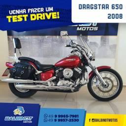 Título do anúncio: DragStar 650 2008 Vermelha