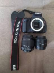 Canon T3i + lente 18-55mm e 35mm