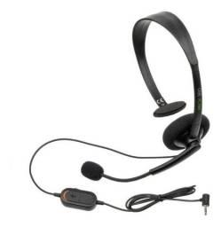 Headset Xbox 360 Preto Original  Novo