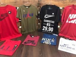Camisetas - Diversas estampas - Atacado e varejo