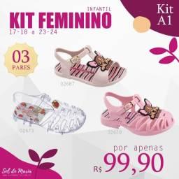 Kit Infantil 3 por R$99,90