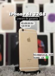 iPhone 6s 32GB semi novo com Garantia