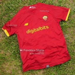 Título do anúncio: Camisa Roma 2021/22 - Titular - Lançamento - Entrega imediata - Loja Fanático Store