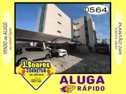 Cid.Univ, Térreo, 3qts, vard, 80m², coz proj, 1.100, Aluguel, Apartamento, João Pessoa