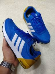 Tênis Adidas Azul (Frete Gratis)
