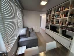 Apartamento à venda com 1 dormitórios em Rio branco, Porto alegre cod:EL56356561