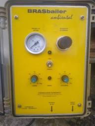 Bomba remédio pneumática inox para remediação ambiental de áreas contaminadas