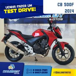 Título do anúncio: CB 500F 2014 Vermelha