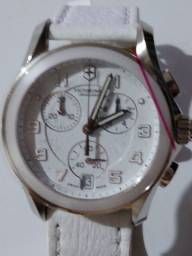 Victorinox Swiss Army White Leather