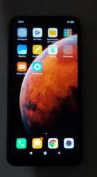 Xiaomi Redmi Note 6 pro 4gb/64gb com película gel + acessórios