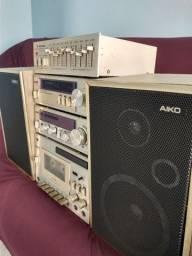 System Aiko 3mil completo com equalizador tarkus T.E. 205