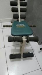 Título do anúncio: Cadeira abdominal da polishop rock gym