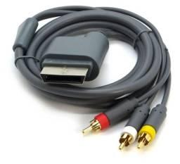 Cabo audio e vídeo XBox 360