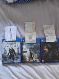 3 Jogos PS4 - Semi novos com nota e garantia