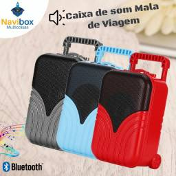 Mini Caixa de Som Bluetooth | Mala de Viagem Oferta?!