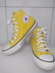 ALL star amarelo cano médio original