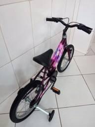 Título do anúncio: Bike Barbie aro 16 aceito cartão