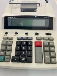 Calculadora e impressora de mesa