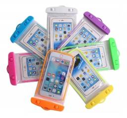 PoaCrmEletronica - Capa para celular resitente a água - Transparente - Universal