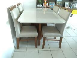 Título do anúncio: Mesa 4 pintura laka e madeira  lugares nova completa pronta entrega