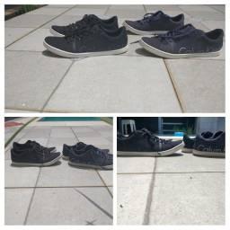 Sapatos números 40 Calvin Klein ,dois pares por 150