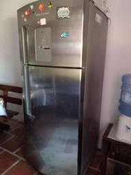 Refrigerador Inox Brastemp 110v- retirada CIDREIRA