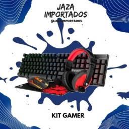 Kit Gamer - Tudo que precisa para sua melhor experiência no jogo!