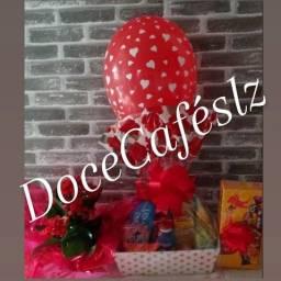 DoceCaféslz Cesta de Café da Manhã com Brinde R$80,00