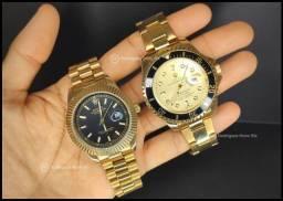 Combo 2 relógios Rolex DayDate/Rolex Submariner
