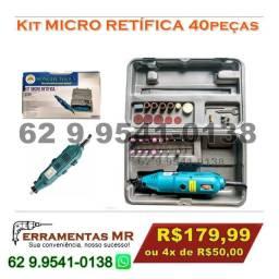 Micro Retífica 40pç