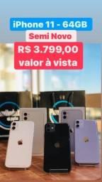 Título do anúncio: iPhone 11 64gb - semi novo