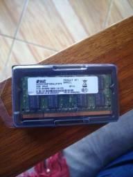 Memória DDR2 400mhz notebook