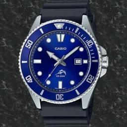 Relógio Casio Duro MDV-106B Azul