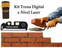 Kit Trena Digital + Nível Laser Profissional