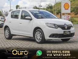 Renault SANDERO Expression Flex 1.0 12V 5p 2020 *Carro Novo D+* Oferta de Ouro