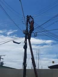 Título do anúncio: Eletricista Profissional geral serviços 24horas chamar