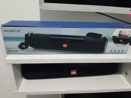 Caixa De Som H'maston E-20 Portátil Com Bluetooth