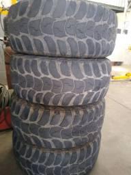 4 pneus kunho do troller 315/70-17