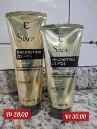 Título do anúncio: Shampoo E Condicionador Siàge Reconstrói Os Fios