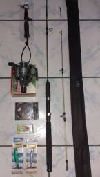 Combo Completo de vara para pescar