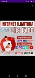 Título do anúncio: Internet