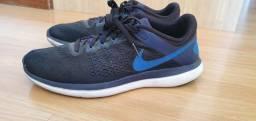 Título do anúncio: Tênis Nike Flex 16 RN Masculino - Preto+Azul- 43