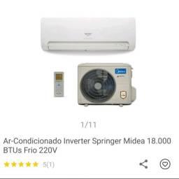 Ar condicionado Split Midea Inverter 18mil Btus