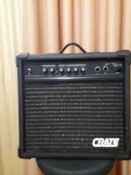 Amplificador Crate guitarra.